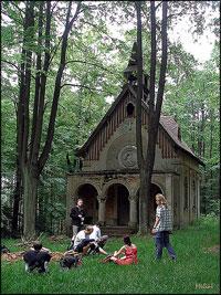 Poutní kaple na Jáchymu