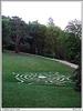 Travnatý labyrint na Loučni