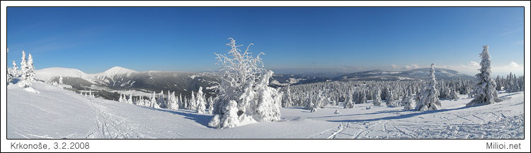 Sněžka a Černá hora