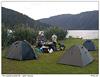 Stanování u jezera Paringa