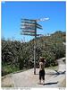 Světový rozcestník na Cape Foulwind