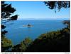 Výhled na Sandfly Bay