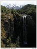 Vodopád pod Mt Ruapehu