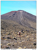 Stoupání na Mt Ngauruhoe