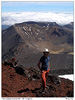 Vrcholové foto z Mt Ngauruhoe