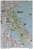 Mapa národního parku Koli